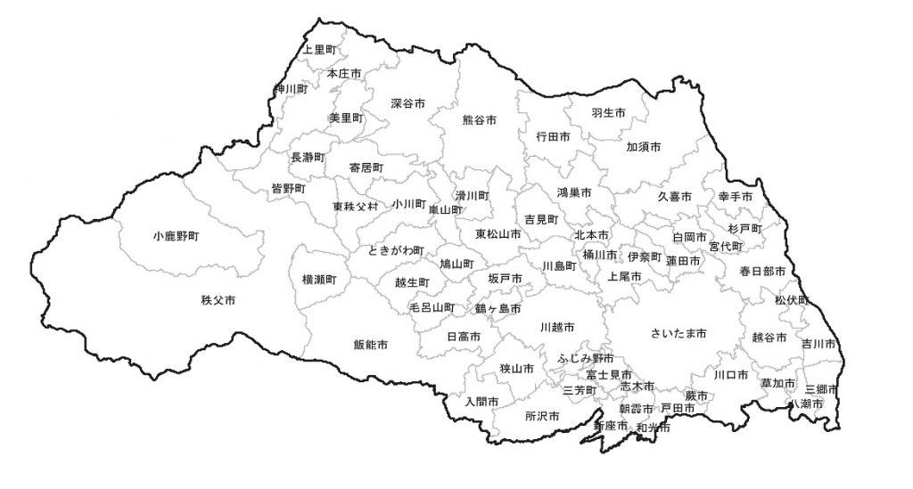 埼玉県地図