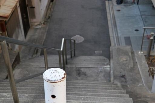 階段に接する物件の買取