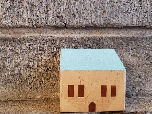 道下物件と擁壁